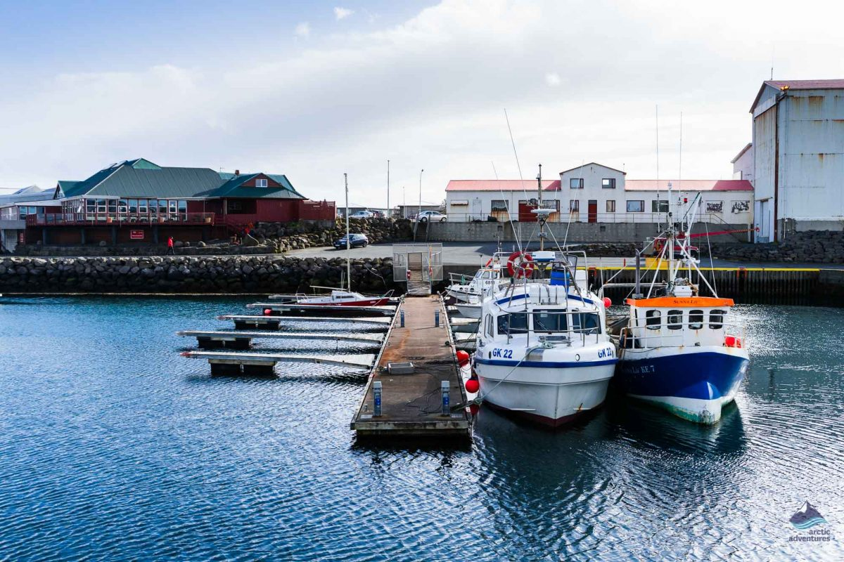 Keflavik fishing village Iceland