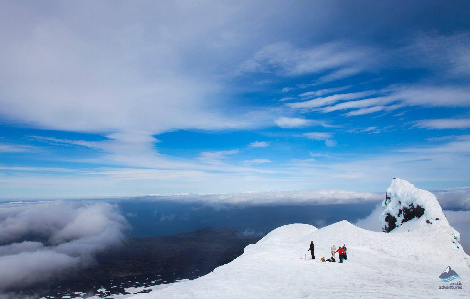 Snaefellsjokull Glacier Summit