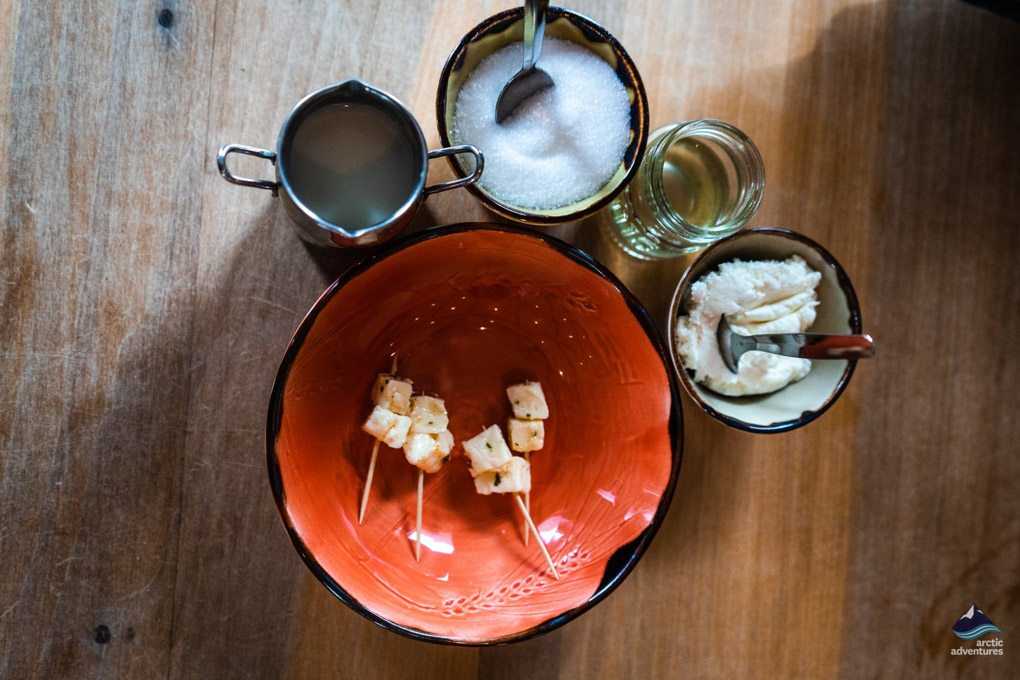 Fermented Shark on a Food Tour in Iceland