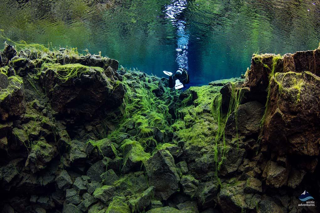 Silfra fissure Diving