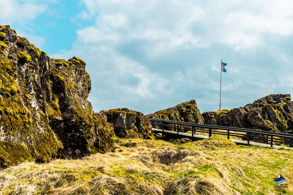 Thingvellir part of the Golden Circle Iceland