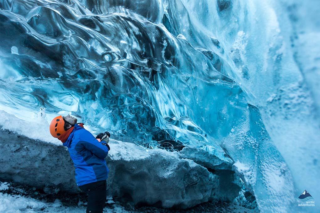 Grotte de Glaces Cristalline en Islande