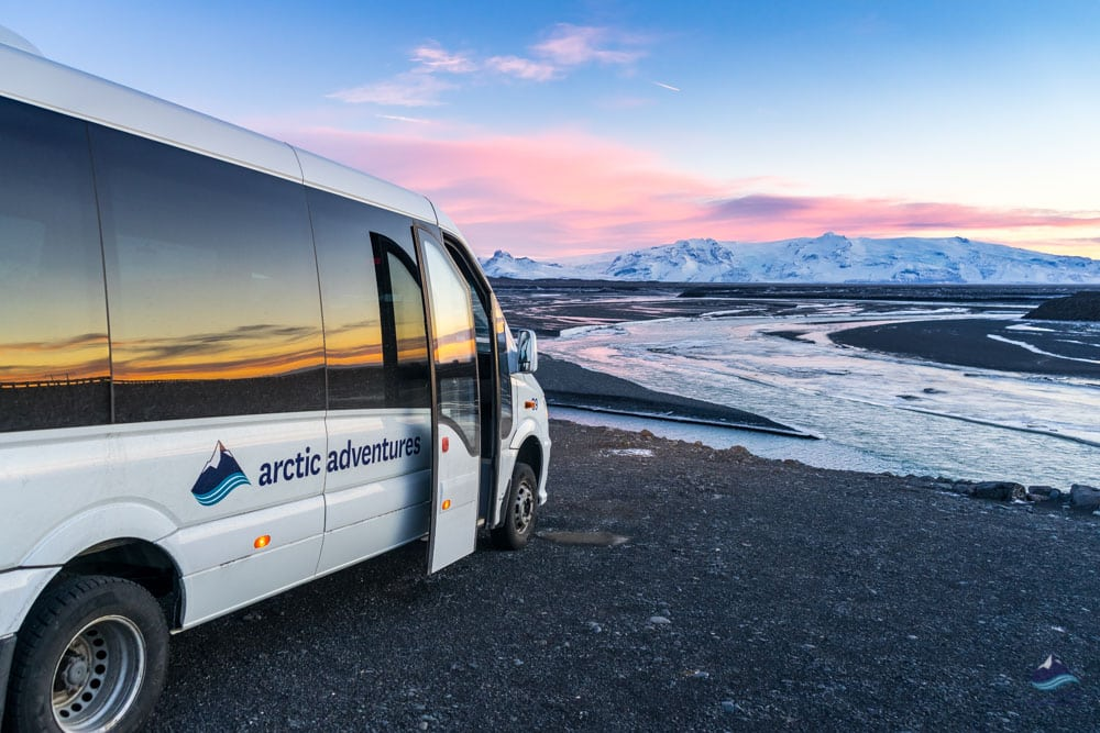 Minibus tour on the Icelandic South Coast