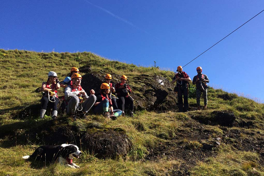 Zipline Adventure Tour in Iceland