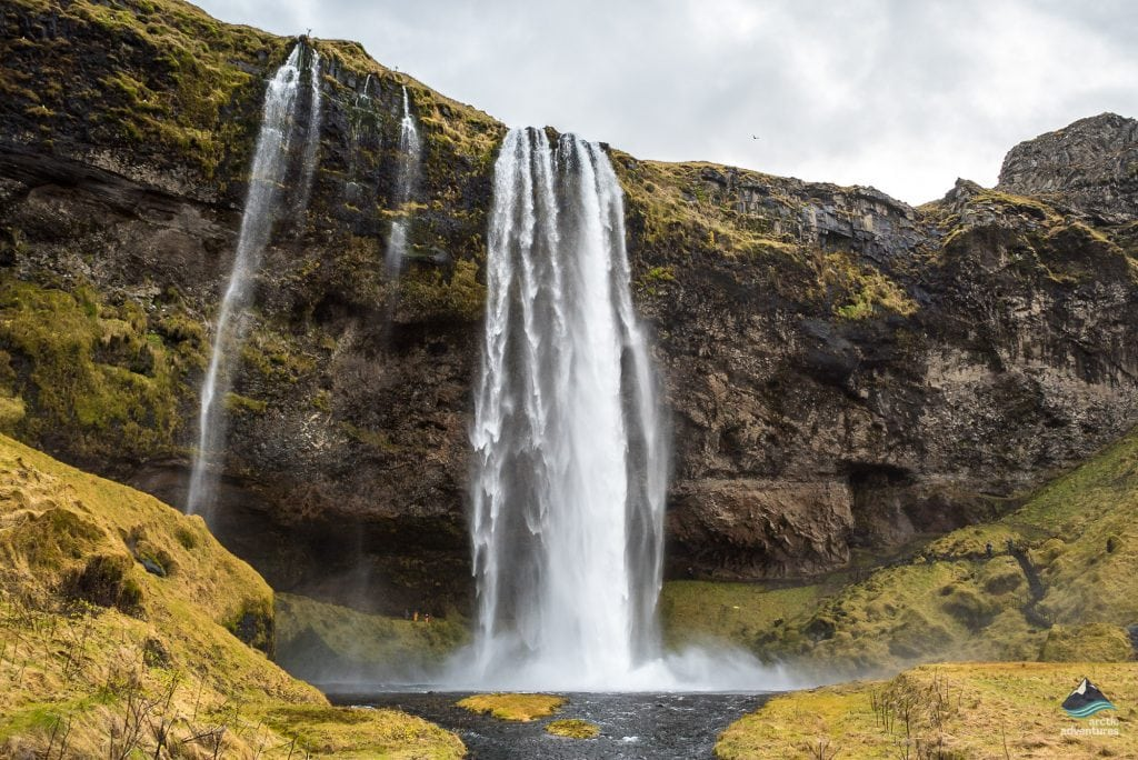 Seljanlandsfoss waterfall in South Iceland