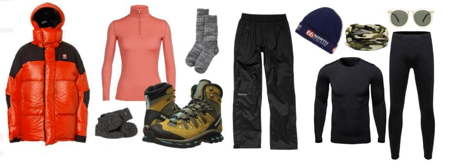 how to dress for northern lights tour