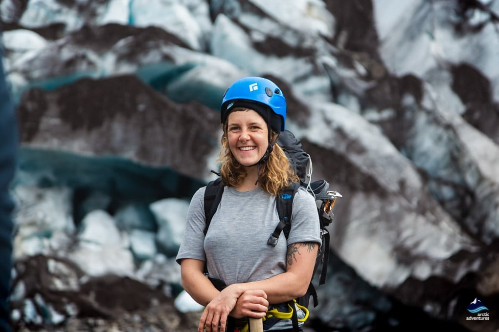 Glacier Hiking Guide in Iceland