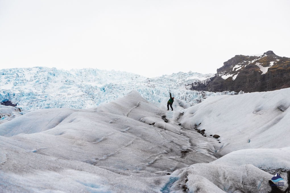 Glacier Hiking Adventure in Skaftafell National Park in Iceland