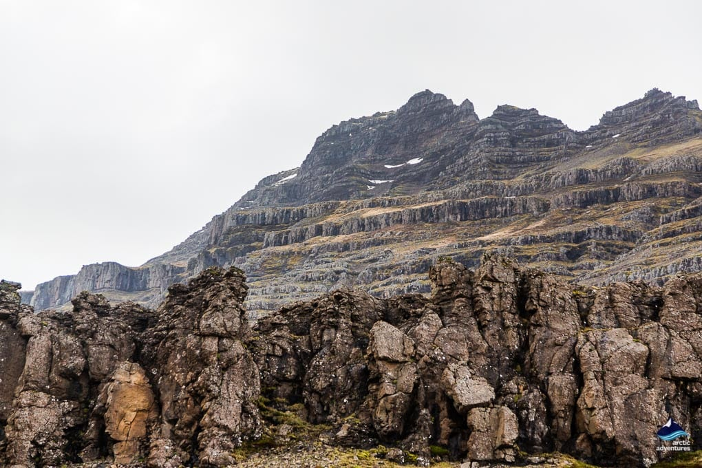 Lava formations Iceland