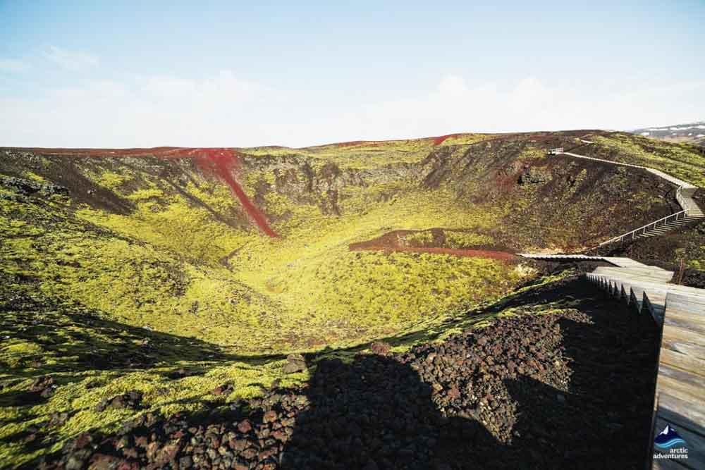 Grabrok Volcanic Crater