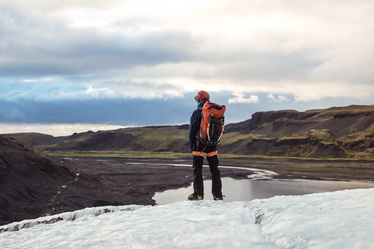 Solheimajokull Glacier hiking