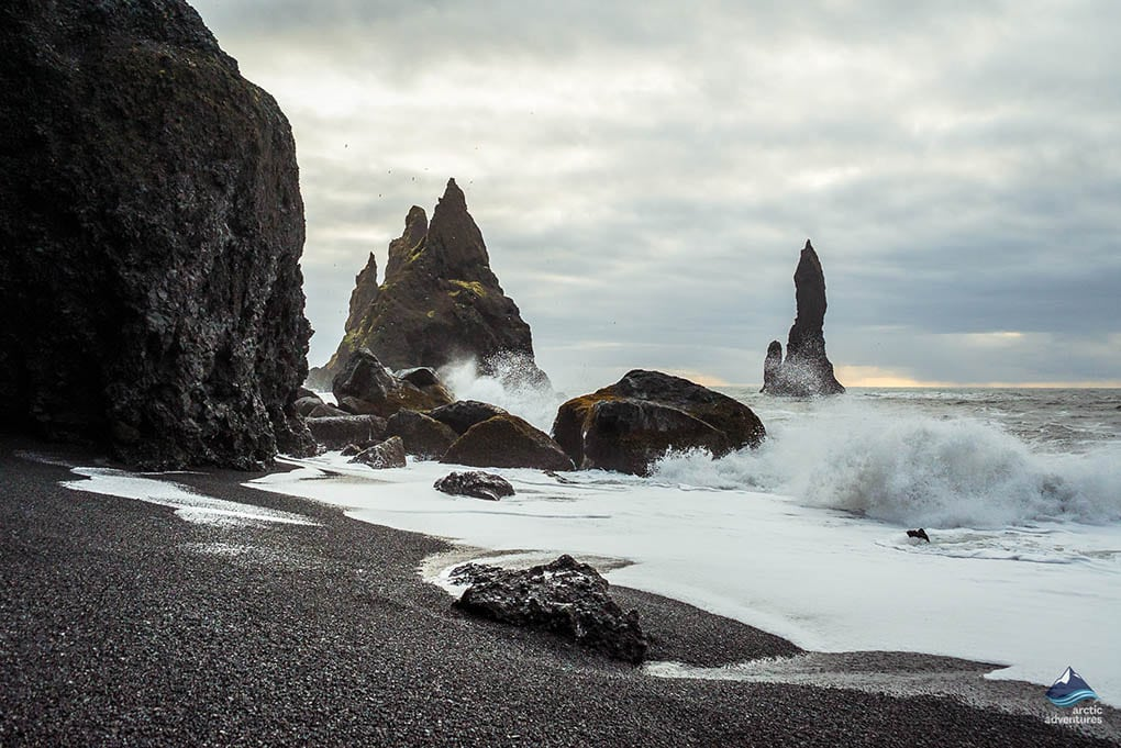 Reynisfjara South Coast in Iceland