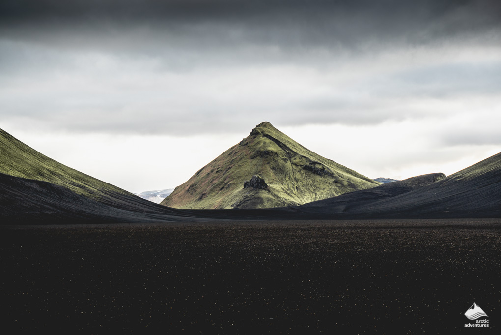 Mountain in the Icelandic highlands