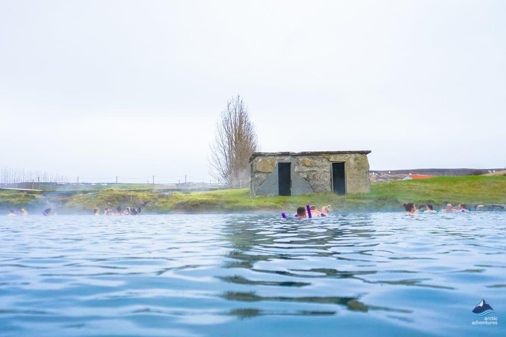 Fludir Lagoon in Iceland