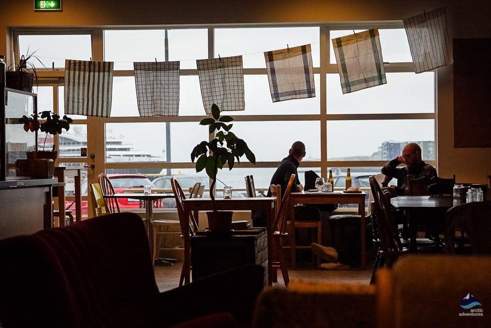 Pallett Cafe in Hafnarrfjordur town