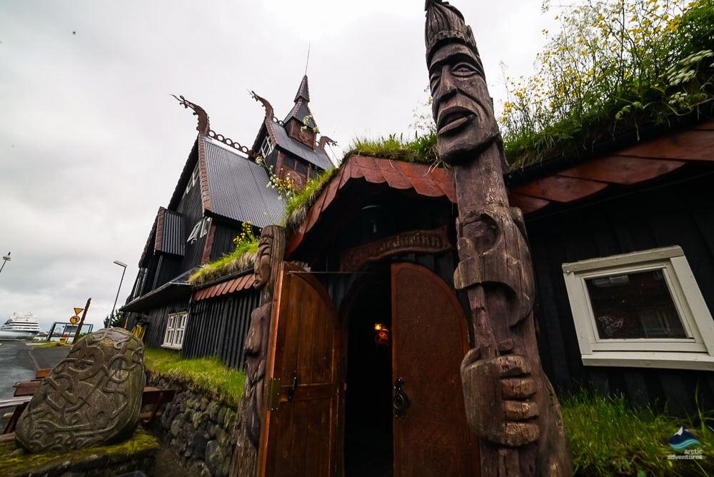Viking Village in Hafnarfjordur