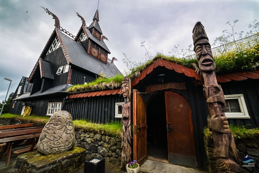 Viking Village in Hafnarfjordur, Iceland