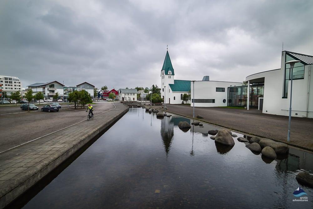 Hafnarfjardarkirkja Church in Iceland