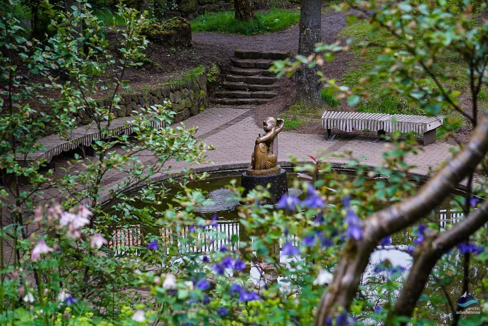 Hellisgerdi Garden in Hafnarfjordur
