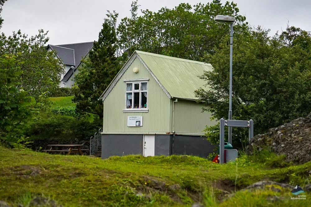 Colorful house in Hafnarfjordur
