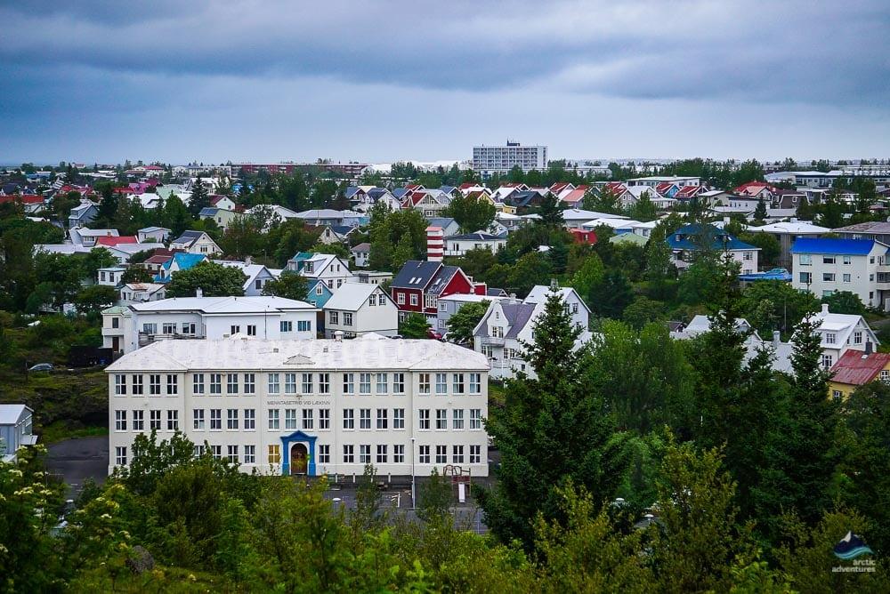 Overview of Hafnarfjordur