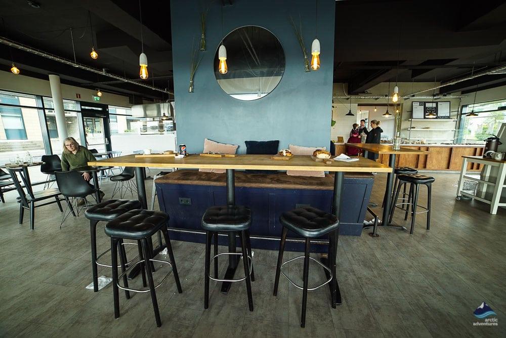 Brikk café in Hafnarfjordur