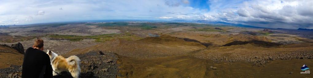 Mt. Helgafell hiking around Hafnarfjordur