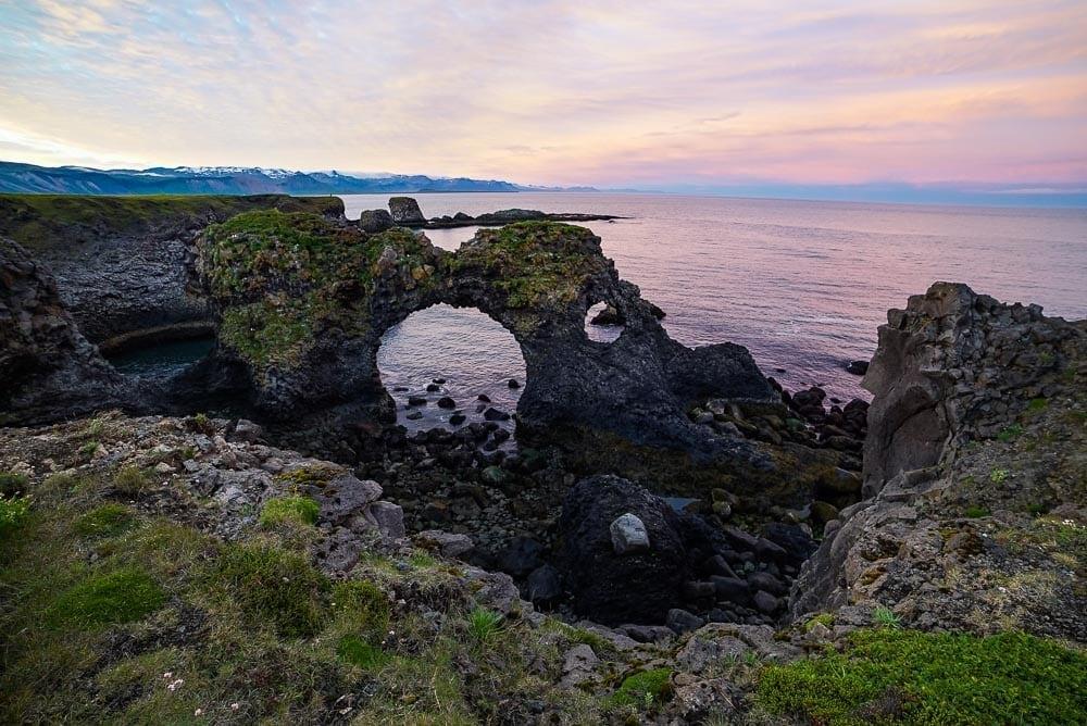 Arnarstapi Cliffs Snaefellsnes peninsula