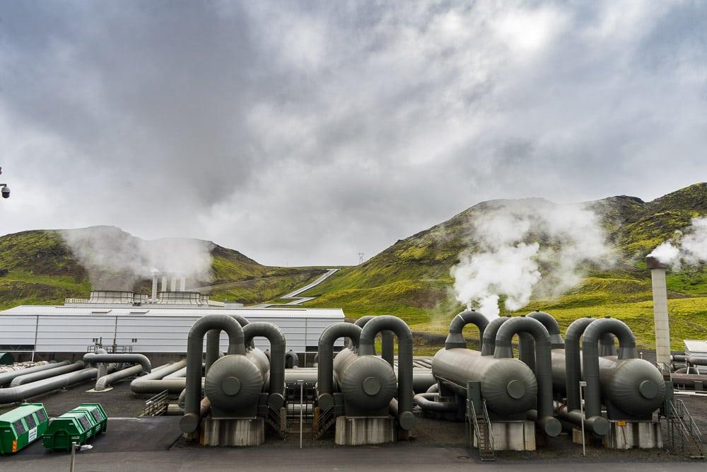 Hellisheidarvirkjun powerplant Iceland
