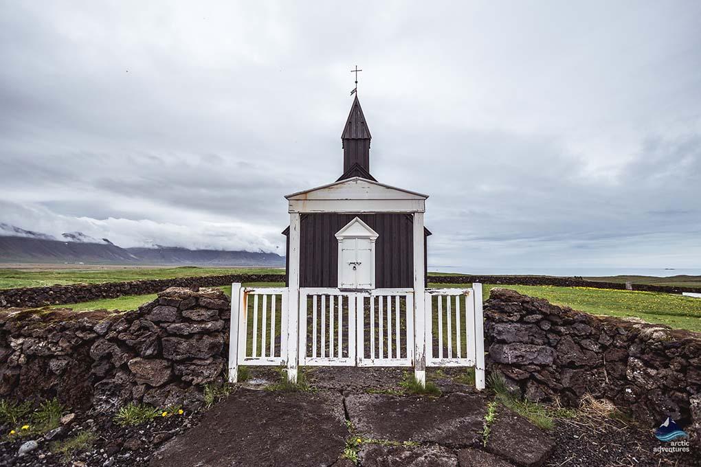 Budakirkja Church on Snaefellsnes