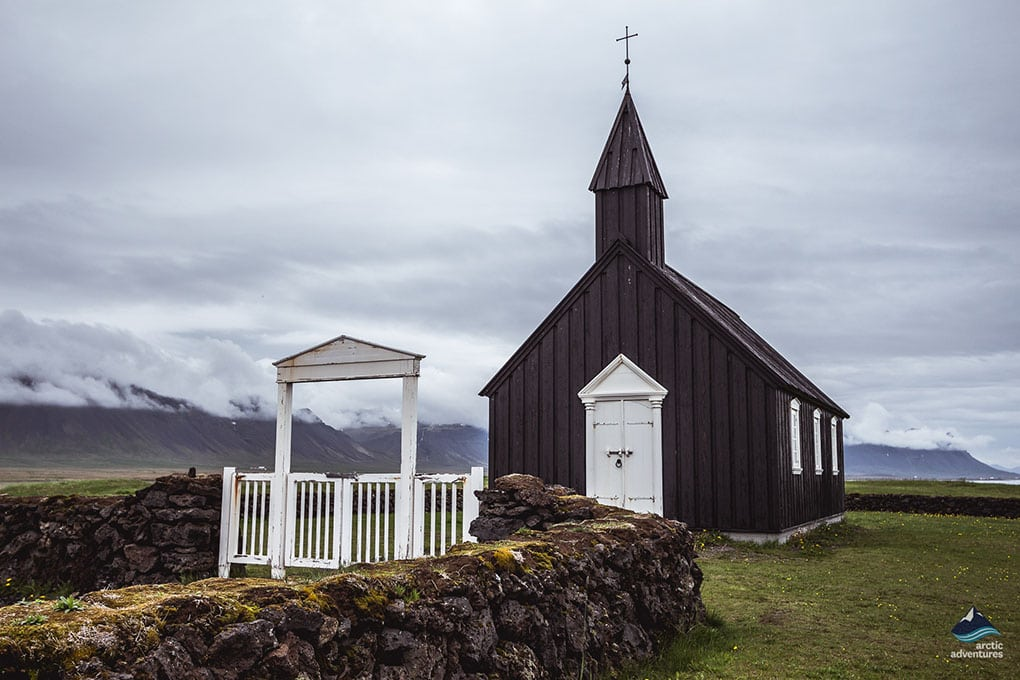 Budakirkja Church on Snaefellsnes