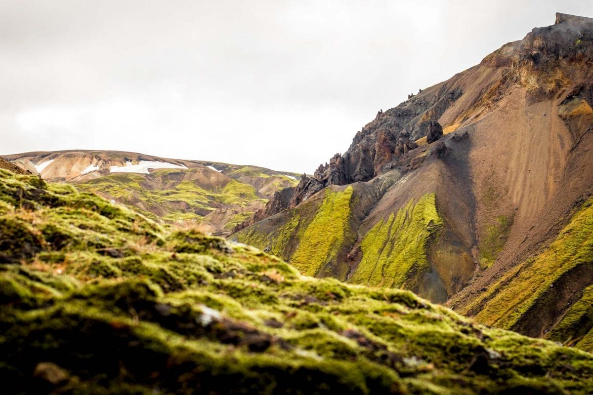 Landmannalaugar in Icelandic highlands