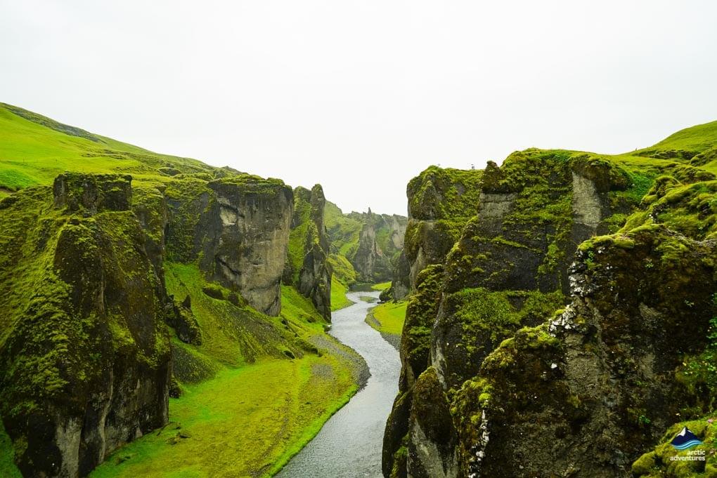 Fjaðrárgljúfur in South East Iceland