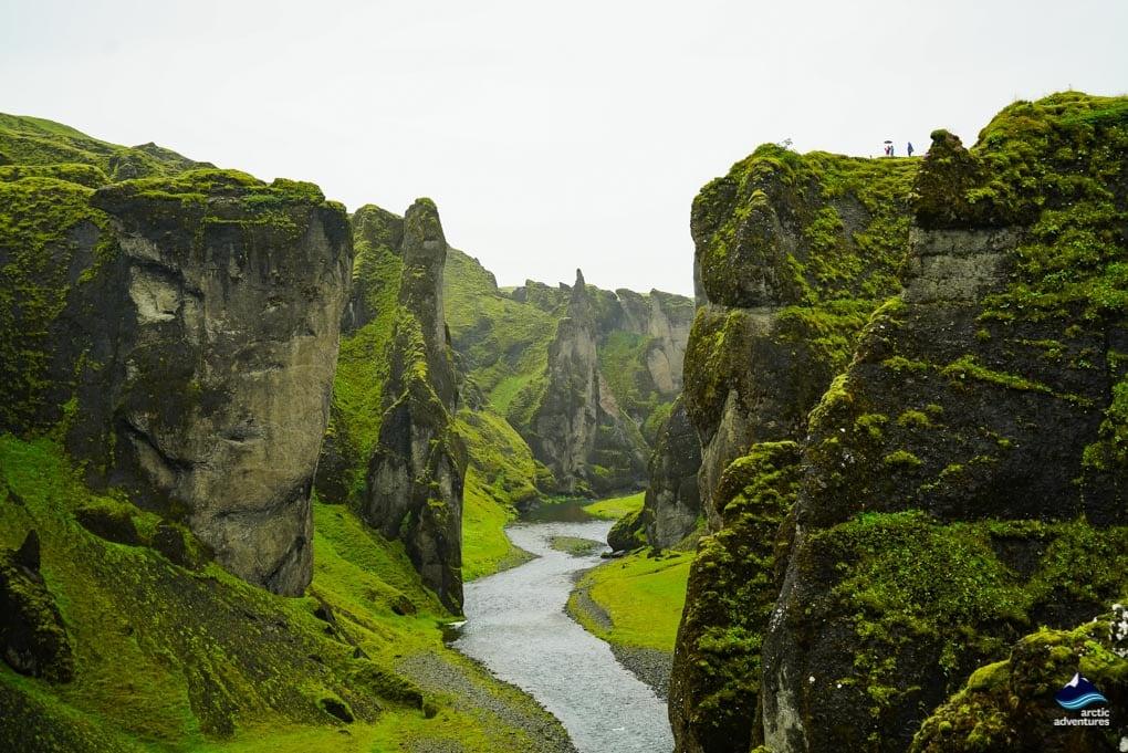 Fjadrargljufur Canyon in South Iceland