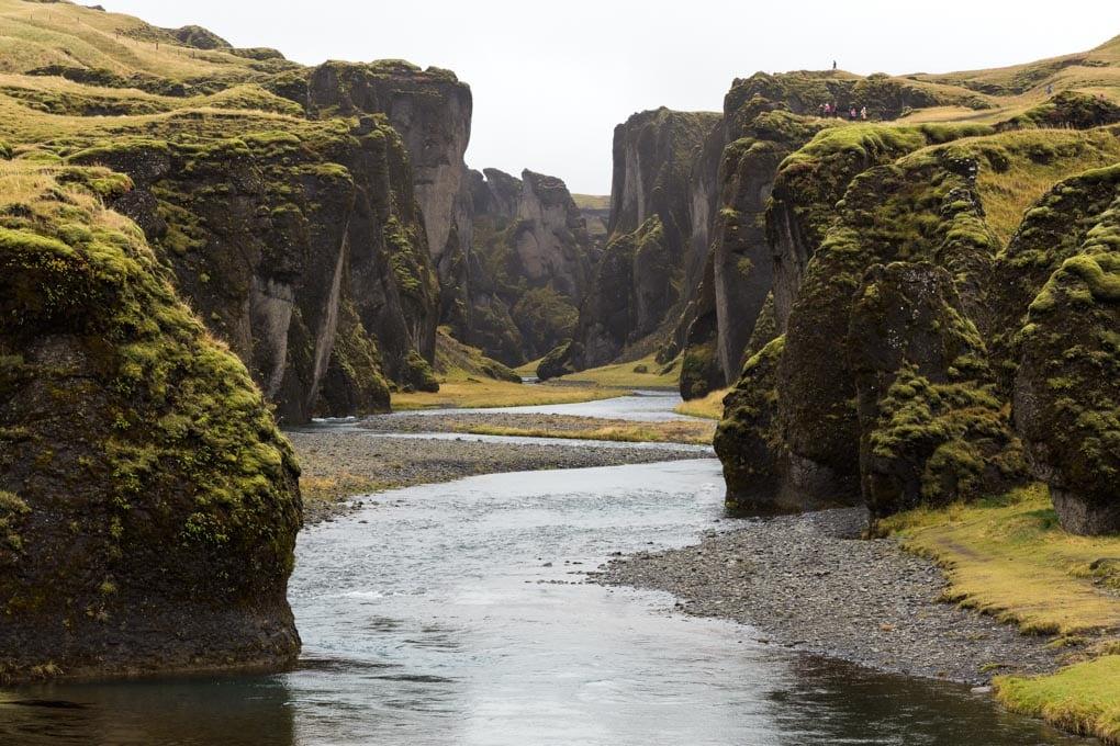 The Great Fjadrargljufur Canyon