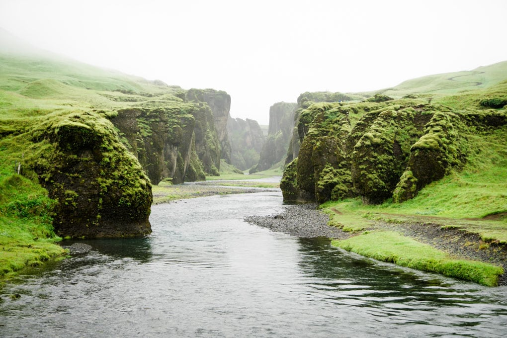 A mystical day at Fjadrargljufur