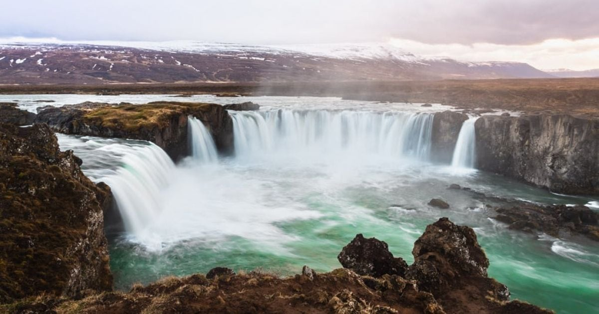 Godafoss Waterfall North Iceland Arctic Adventures