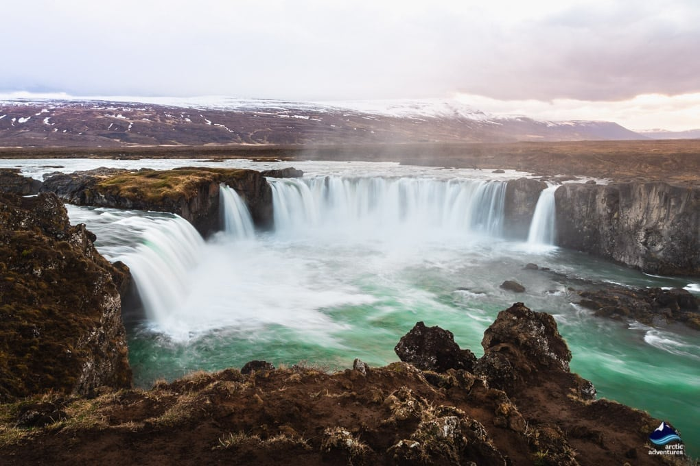 Godafoss waterfall North Iceland