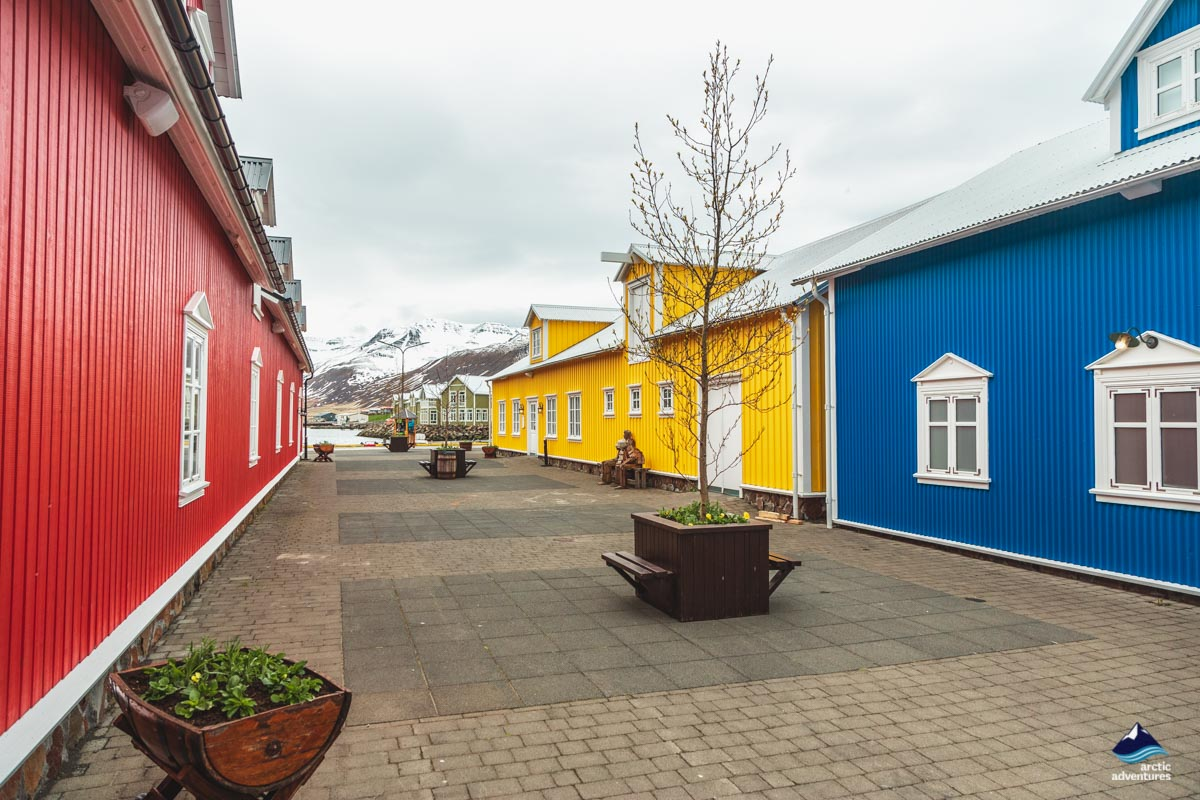 Town of Siglufjordur North Iceland