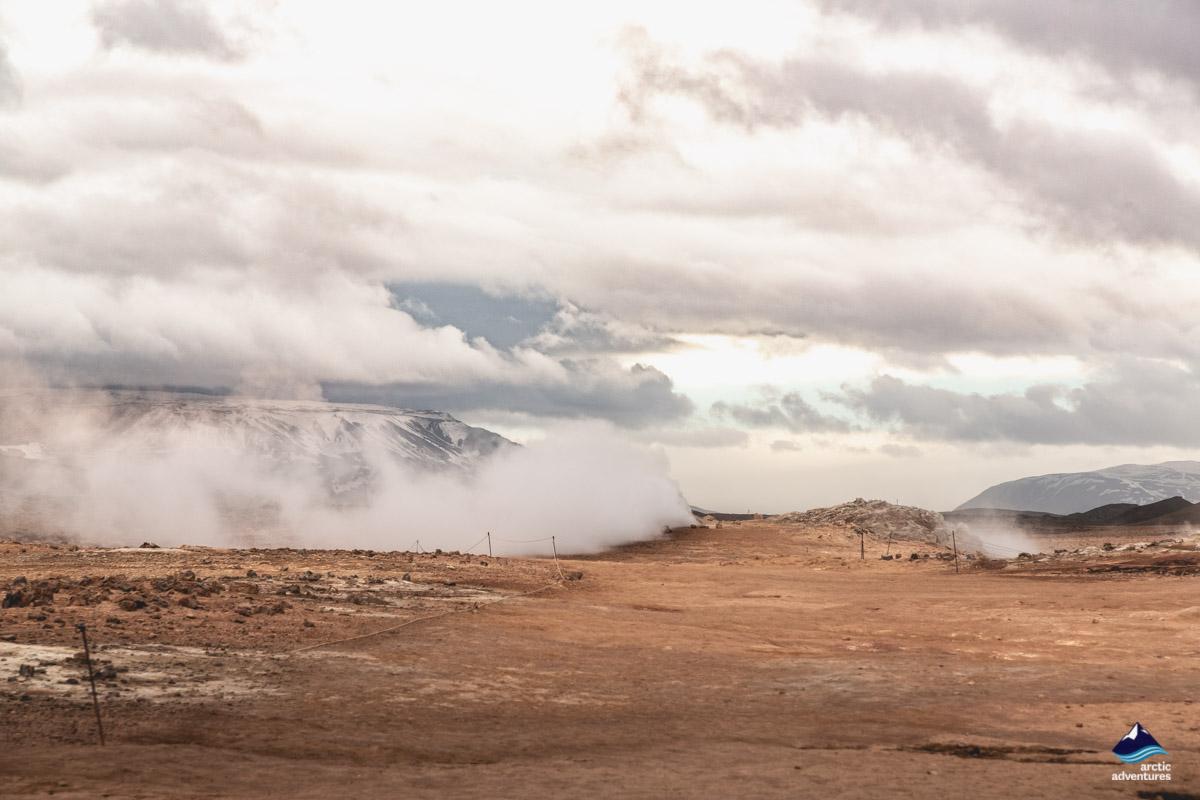 Myvatn geothermal area!
