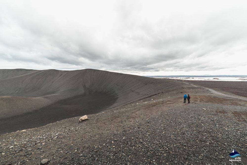 Hverfjall Crater North Iceland