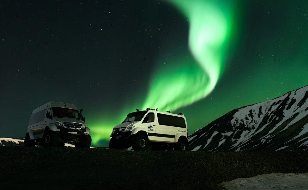 Iceland Northern Lights Super Jeep Tour Arctic Adventures