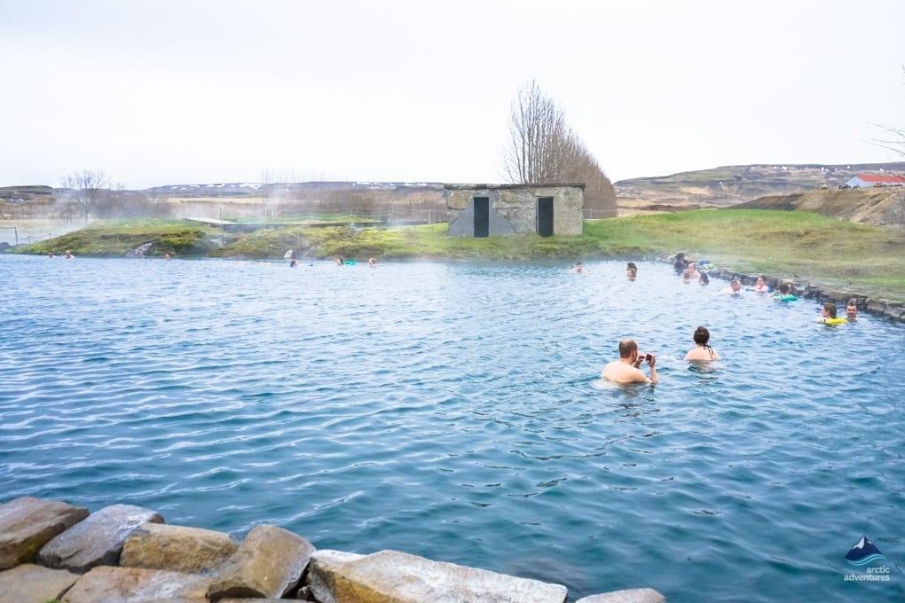 Secret Lagoon Fludir, Iceland