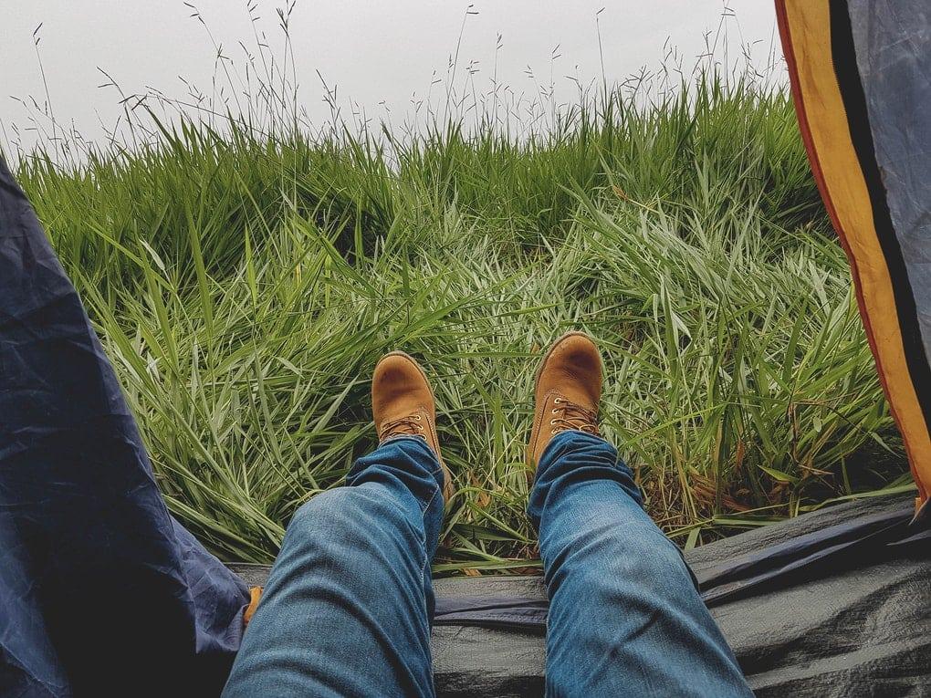 Camping in Skaftafell