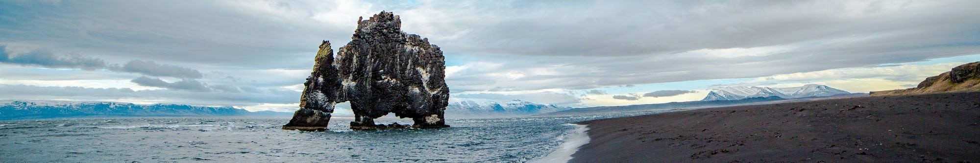 Hvitserkur Sea Stack Iceland