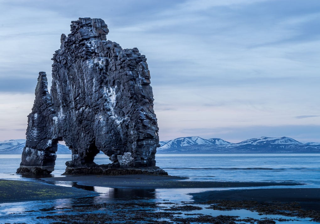 Hvitserkur Winter Time