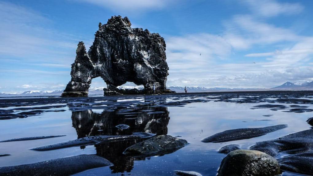 Hvitserkur Sea Stack in North Iceland