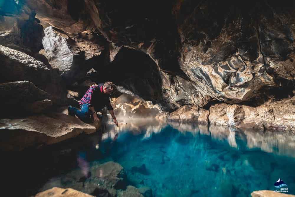 Grjotagja Cave Iceland