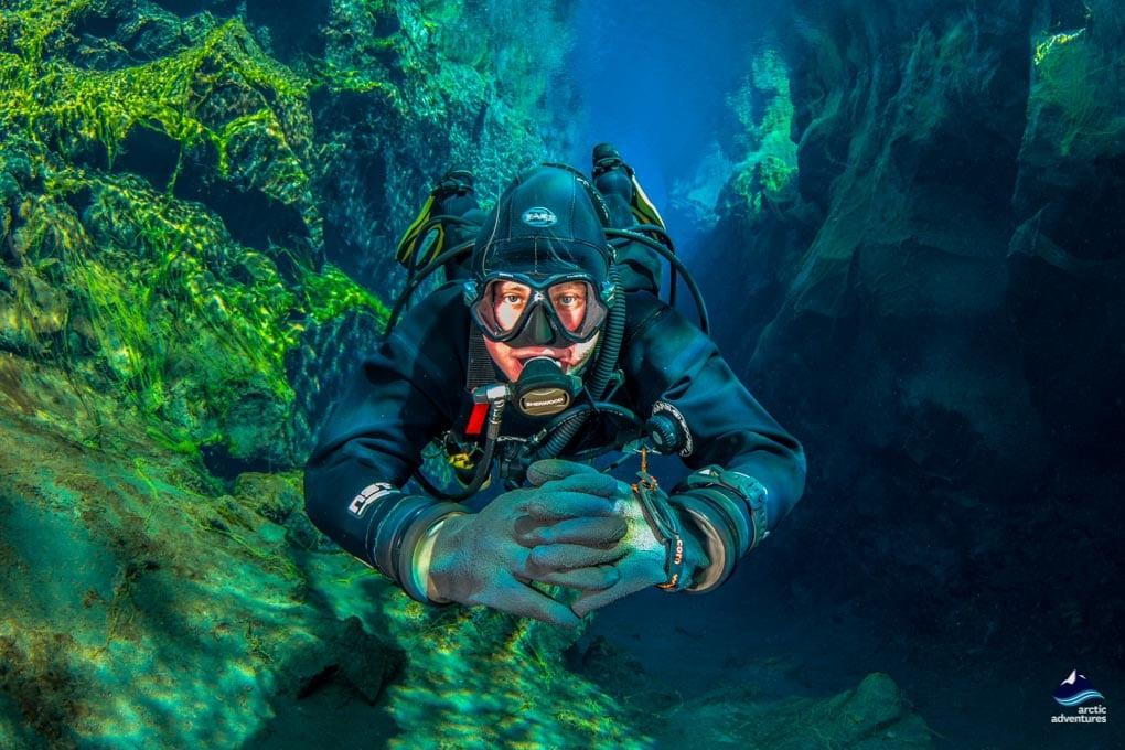 Diving in between the conte