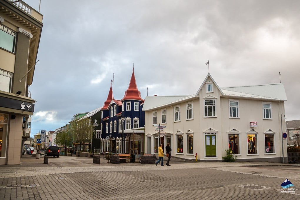 Downtown Akureyri